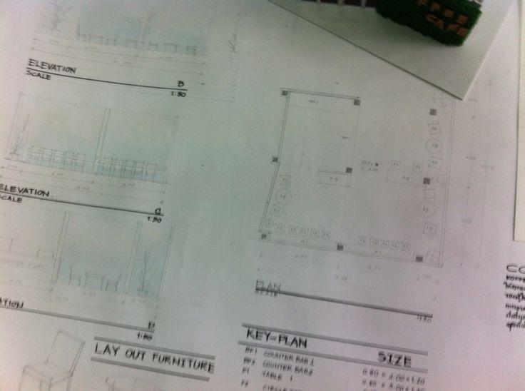 Plan coffee shop design mini project group