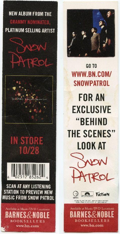 Snow Patrol - Barnes  Noble