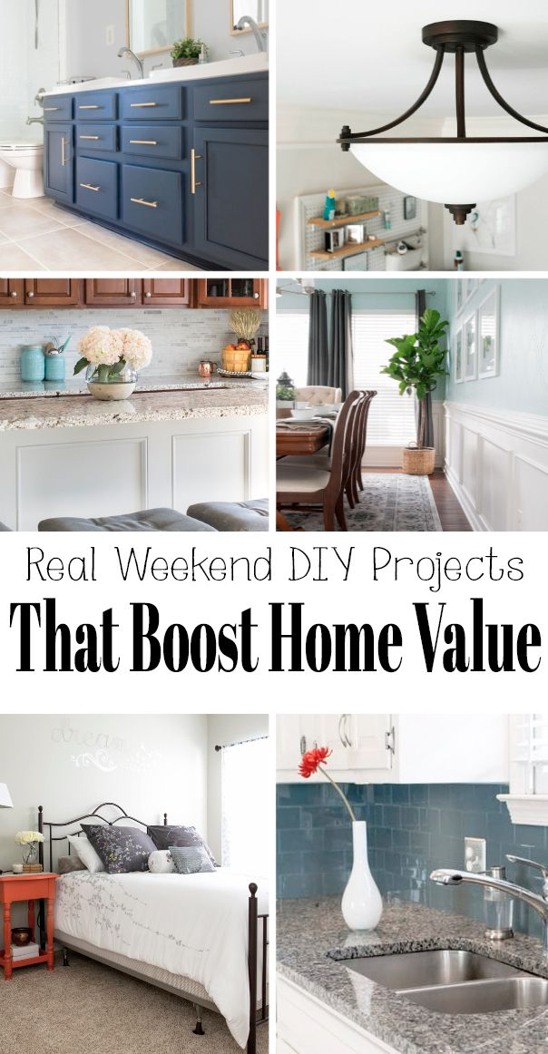 Easy Diy Home Improvement Ideas That Boost Home Value In 2020 Home Improvement Loans Home Improvement Projects Diy Home Improvement