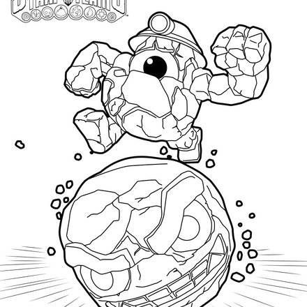 Printable Skylanders Coloring Pages Skylanders Trap Team Coloring Pages : 52 Free Online Printables