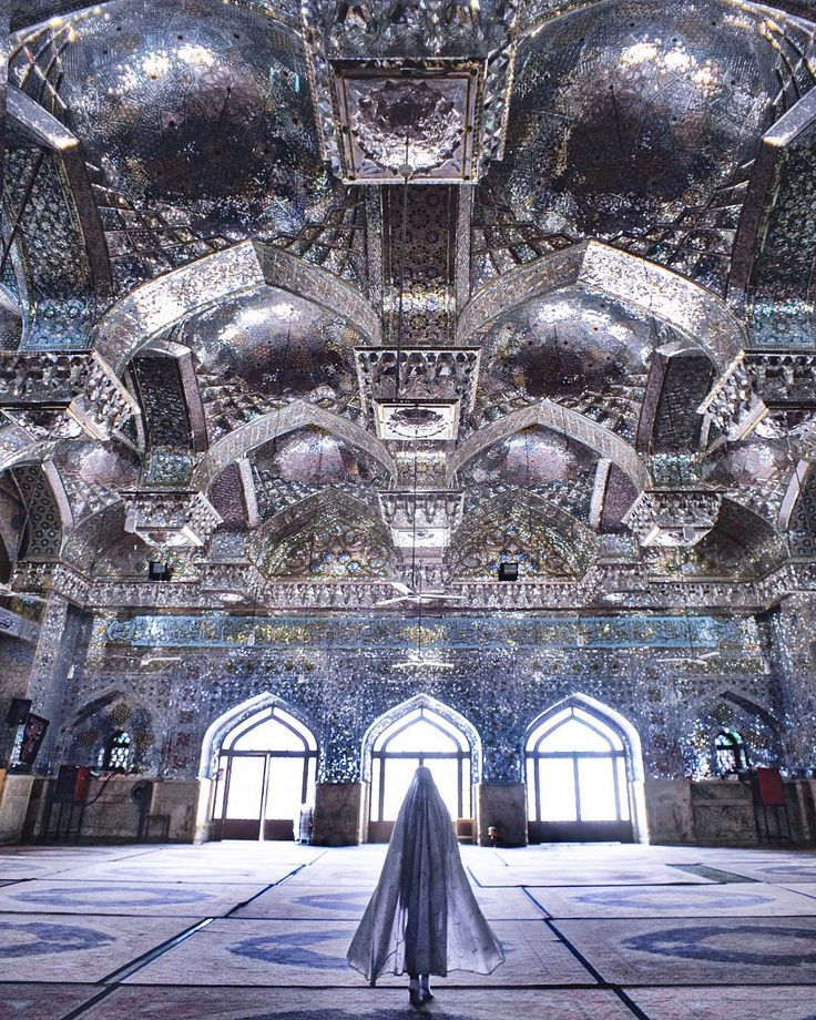 "6,365 Likes, 165 Comments - Alexandra Pankratova (@pankratova916) on Instagram: ""Diamond mosque ✨ // Та самая ""бриллиантовая"" мечеть Seyed Alaedin Hossein Shrine в Ширазе, ради…"""