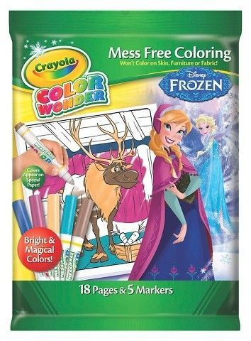 Frozen Crayola Color Wonder Mess Free Coloring Perfect For Travel Affiliatelink