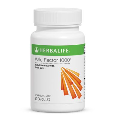 Male Factor 1000® capsules contain a proprietary blend of oat extract with nettle, ginseng, calcium and Vitamin C.  Key Benefits  Proprietary formula that includes nettle, ginseng, calcium and Vitamin C.  ORDER NOW and FEEL THE DIFFERENCE!  https://www.goherbalife.com/goherb/