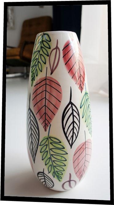 "Stig Linberg ""Italy"" vase. 1960 www.nitelshop.com"