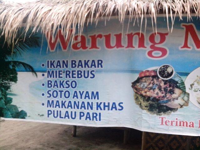 makanan khas pulau pari