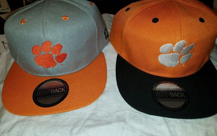 CHEAP DEALS 2016 NCAA National Championship Clemson Tigers Snapback Cap Hat