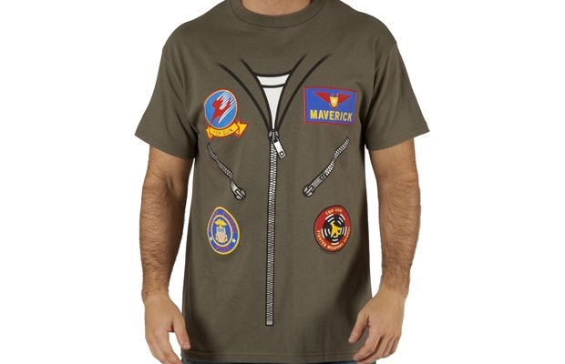 Top Gun Maverick Flight Suit Costume T-Shirt Get yours here: http://tshirtonomy.com/go/top-gun-costume