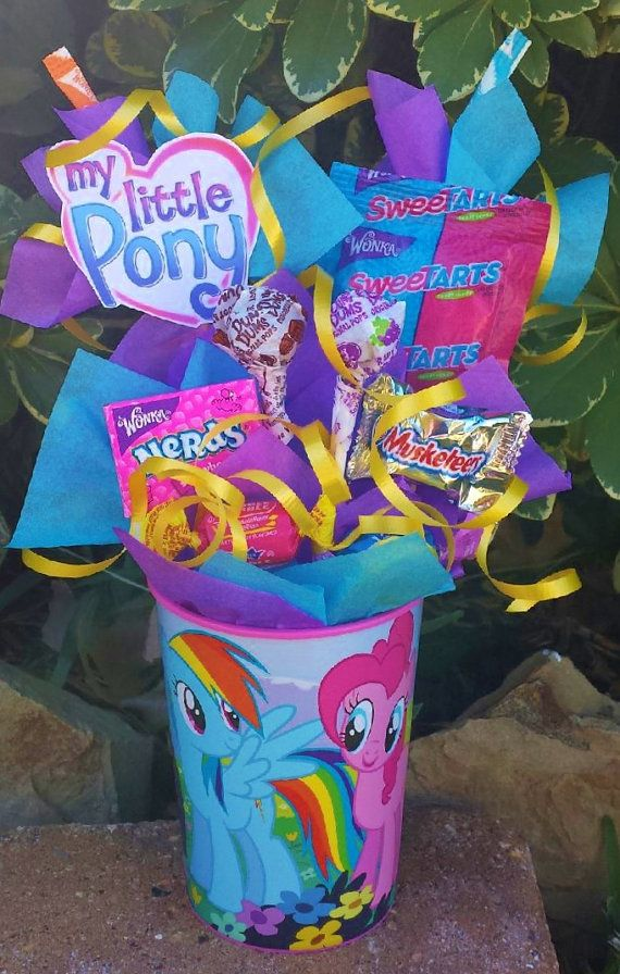My Little Pony Kids Candy Party Favor by LynnsCandyCreations