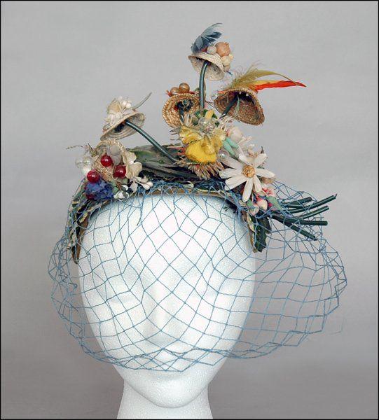 201 best Millinery: Fun Couture Hats images on Pinterest | Headdress Zorza Gl Vase on