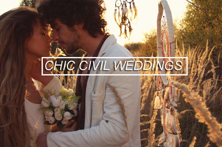 Chic Civil weddings board #weddings #bride #groom #chic #shabbychic #marriage