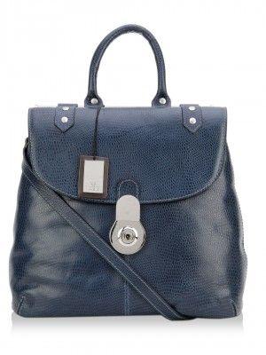 Hidesign Handbag With Lock And Key Closure by koovs.com