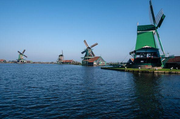 Olanda_mulini_fiume_zaanseschans