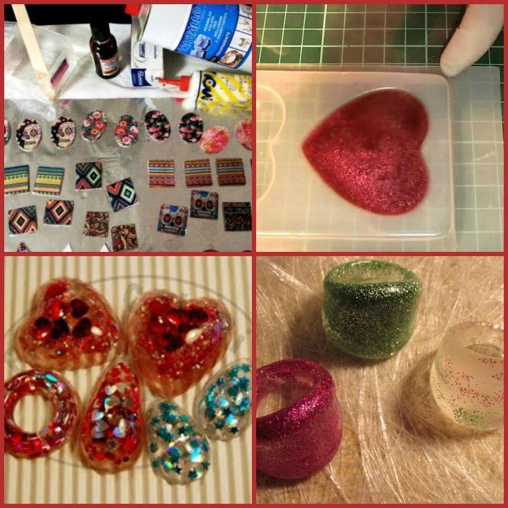 Tutorial come usare la resina per creare gioielli e bigiotteria