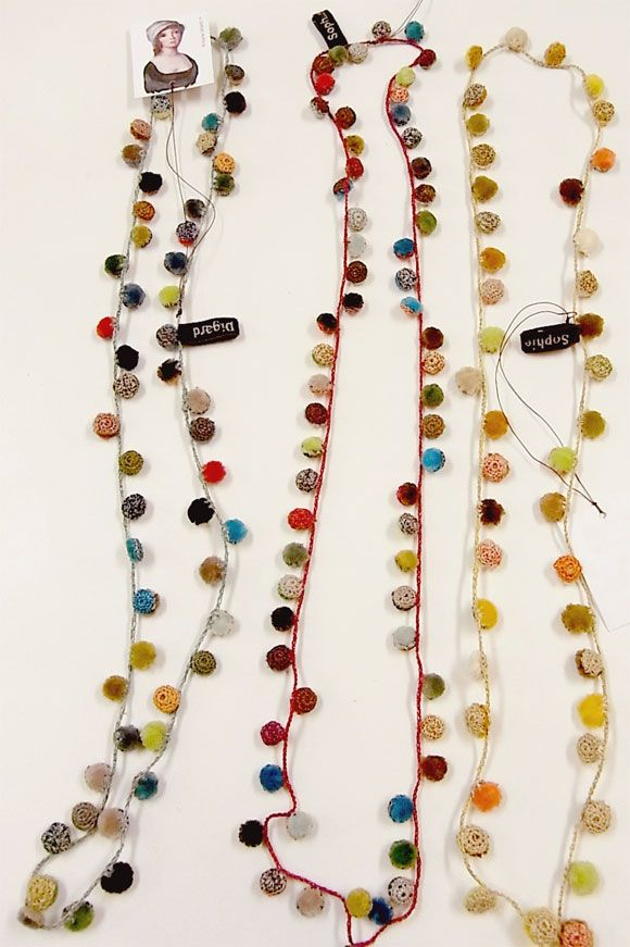 Sophie Digard pompon Necklace - naughty online shop