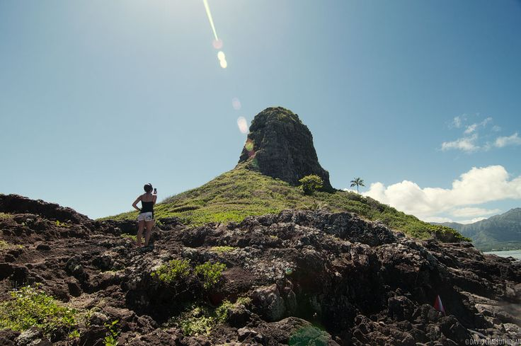 I've seen Chinaman's Hat (Mokoli'i Island) countless times while hiking, driving or swimming on the Windward side of Oahu. It's the small island that looks