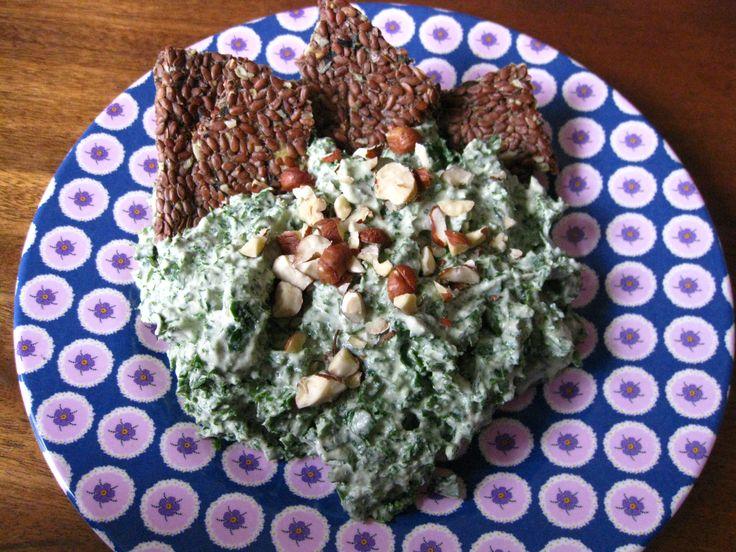 Danish Greenkale Salat (Raw Grønlangkål)