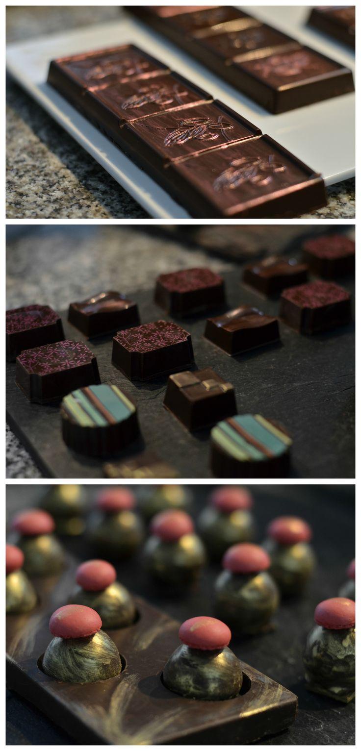 Trufa, bombón y barrita de chocolate - Petits Chocolats por Chef Patissier Maximiliano Giménez
