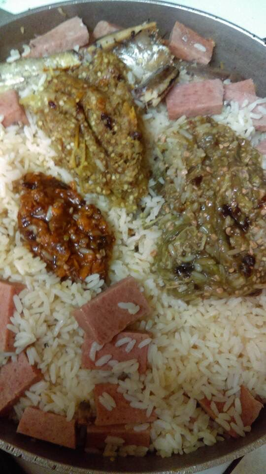 15 best liberian food images on pinterest dry rice west african liberian food dry rice with fish lunchon meat peppers forumfinder Gallery