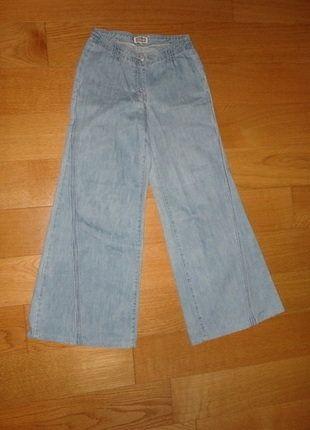 À vendre sur #vintedfrance ! http://www.vinted.fr/mode-femmes/jeans/25825852-jean-denim-evase-boocut-pattes-deph-lignes-brodees-etam-36