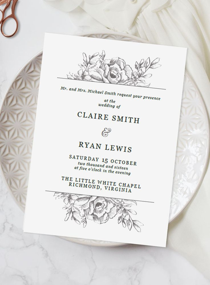best 25 illustrated wedding invitations ideas on With wedding invitations less than 1