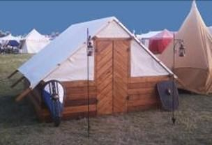 Complete plans/steps for constructing a Viking longhouse.
