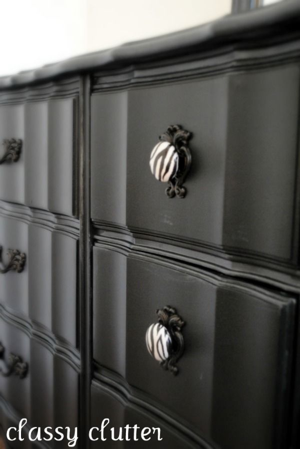 Re-do old cabinets or dressers for an awesome new cool look!  This web-site has LOTS of DIY decor ideas.