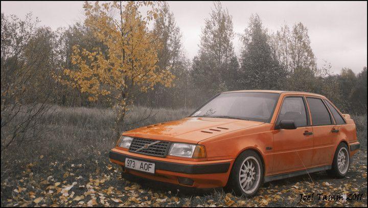 The annoying orange.. volvo 440 :)