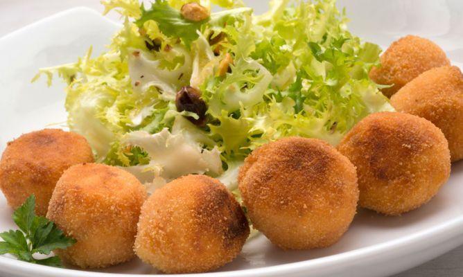Receta de Bolas de patata y sobrasada