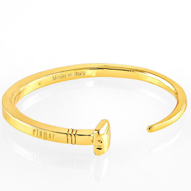 Clamor - Chiodo Yellow Gold Bracelet