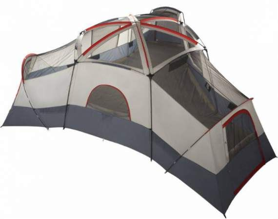Ozark Trail 20 Person Tent is with 25 x 21.5 feet dimensions a cabin type  sc 1 st  Pinterest : best 4 man tent - memphite.com