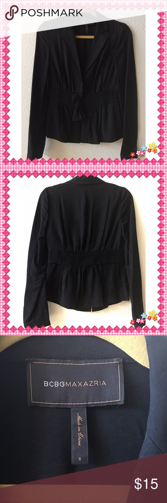 BCBGMAXAZRIA Top Beautiful black long sleeves from BCBGMAXAZRIA. Size small. In very good condition. No trade ❌ BCBGMaxAzria Tops
