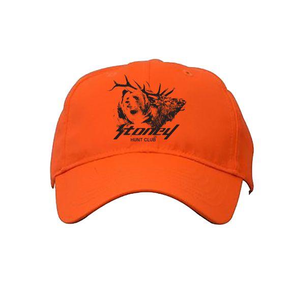 Post Malone STONEY Hunt Club Blaze Orange Hat