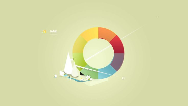 IANE Colorwheel HD Wallpaper