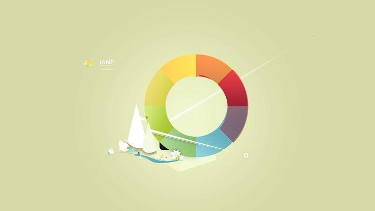 IANE Colorwheel HD Wallpaper