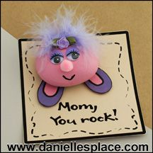 Mom, You Rock Mother's Day Craft for Kids