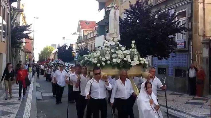 Procissão do Mártir São Sebastião, na Rua do Godinho em Matosinhos