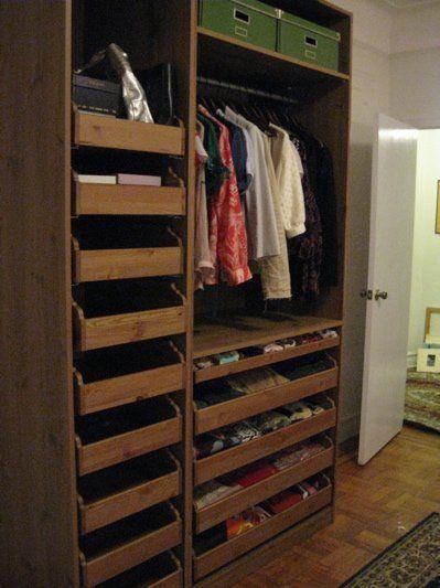 Scavenger Ikea Pax Wardrobe System For 500 House Stuff