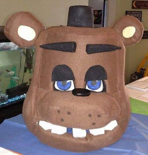 Freddy Fazbear Five Nights at Freddy's Costume by MorsbaneGoods