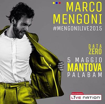 Musica - MARCO MENGONI AL PALABAM @mengonimarco #GUERRIERO #eurovision #musica