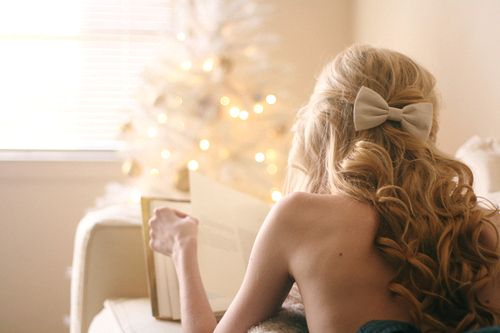 : Hairbows, Blondes Hair, Wedding Hair, Long Curls, Wavy Hair, Long Hair, Hair Bows, Hair Style, Curly Hair