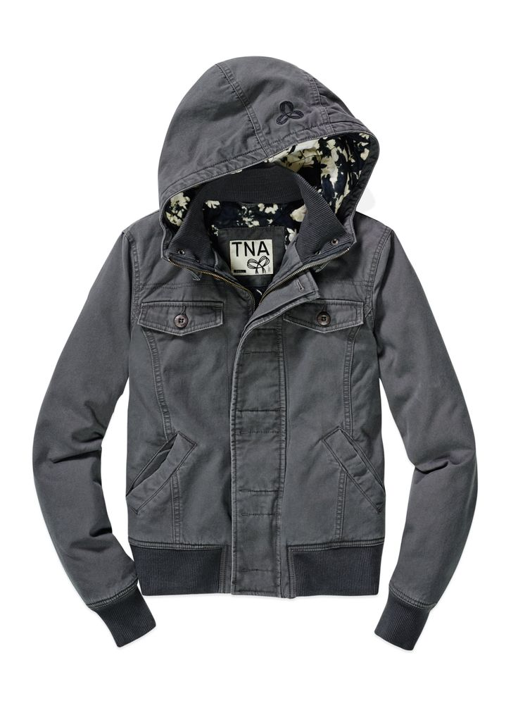 TNA MAVERICK JACKET | Aritzia the perfect replacement for my very old worn out bomber!