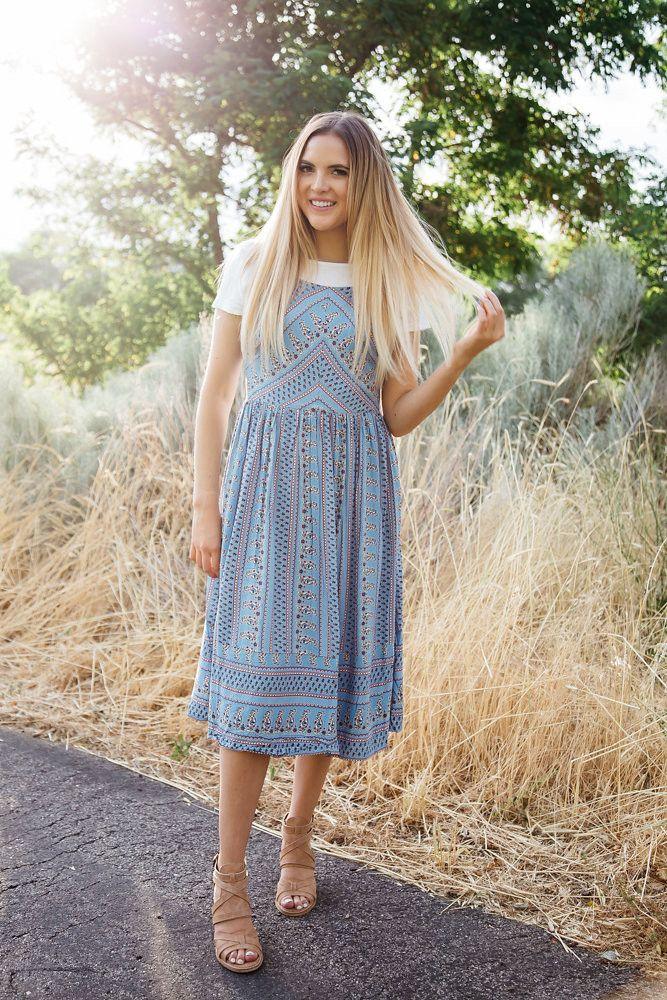 The Brielle Paisley Dress