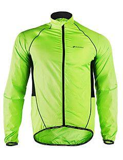 Nuckily+Cycling+Jacket+Men's+Long+Sleeves+Bike+Jacket+Windbreaker+Raincoat+Top+Bike+Wear+Moisture+Wicking+Waterproof+Quick+Dry+Windproof+–+USD+$+44.99