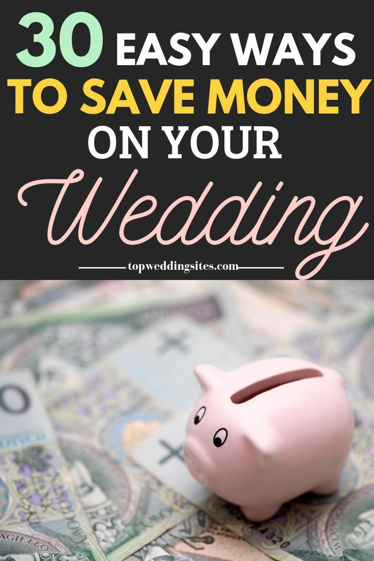 Your Wedding Budget: 30 Easy Ways To Save Money | Engagement