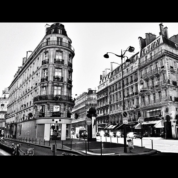 paris buildings travel street