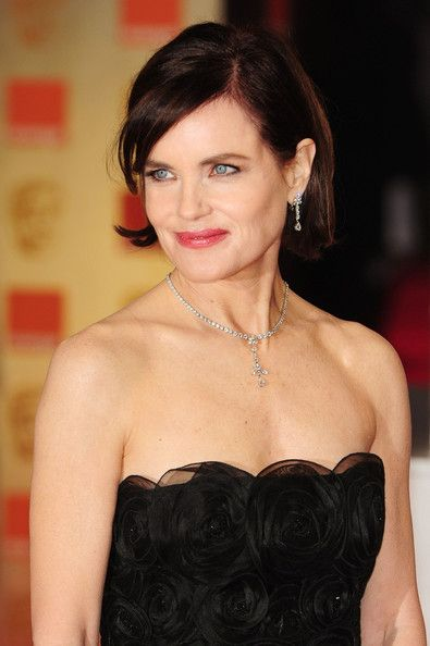Elizabeth McGovern Photo - Stars at the 2012 Orange British Academy Film Awards (Downtown Abbey Actress) Love this dress!