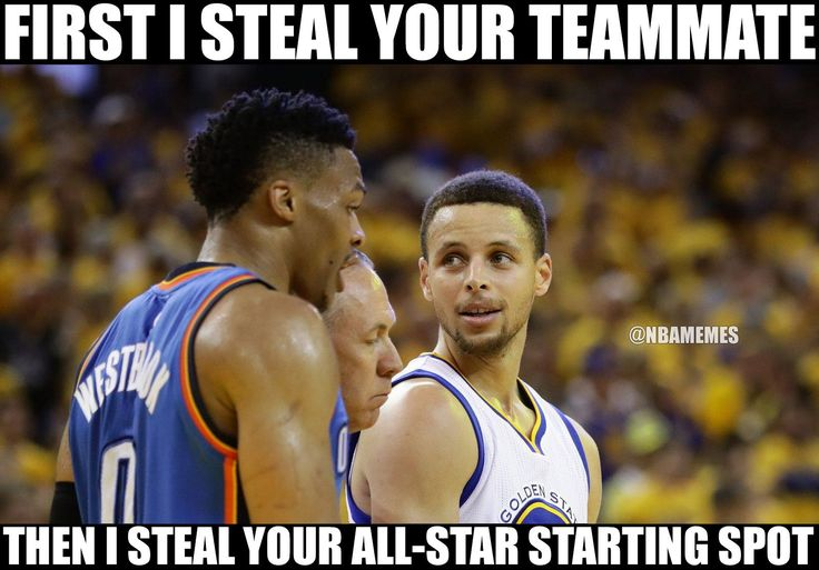 RT @NBAMemes: Steph keeps stealing from Westbrook. - http://nbafunnymeme.com/nba-funny-memes/rt-nbamemes-steph-keeps-stealing-from-westbrook