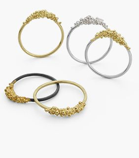 hannah bedford does lovely rings I have one of her silver ones and earings to match that my love bought for me x