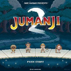 "My 16bit ""JUMANJI 2"" tribute... @therock @jackblack @karengillanofficial and @kevinhart4real an absolutely marvellous cast! Yo!  #jumanji #jumanji2 #jumanjimovie #videogame #videogames #thegamethatplaysyou #16bit #8bit #coinop #insertcoin #pixel #pixelart #pixelartist #nerd #theoluk #therock #jackblack #karengillan #kevinhart #jakekasdan"