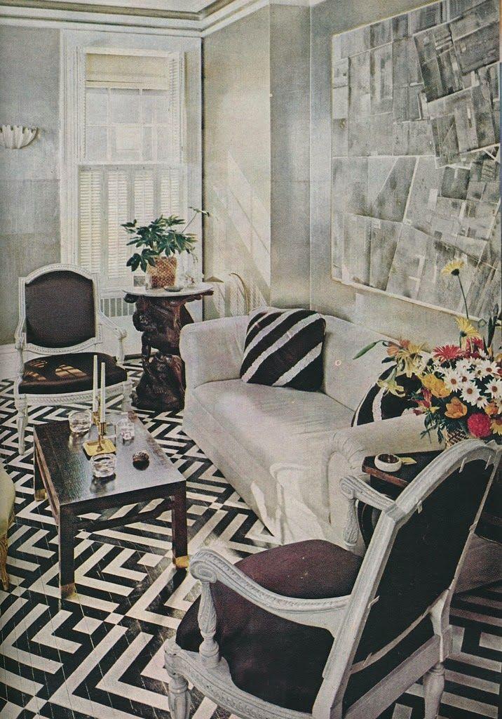 Albert Hadley's Manhattan living room                                                                                                                                                                                 More